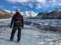 Iceland Svinafellsjokull Glacier Hike while doing solo travel in Iceland