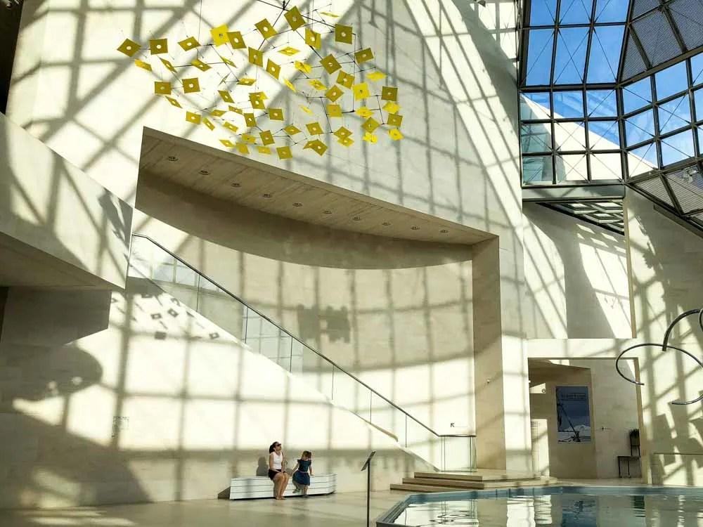 Luxembourg MUDAM museum IM Pei