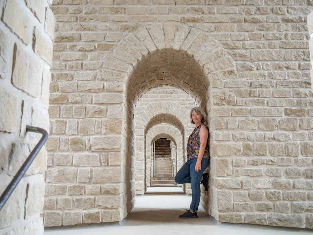 Luxembourg Vianden Castle Arches