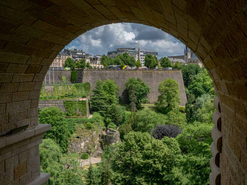 Things to do in Luxembourg View from Adolphe bridge