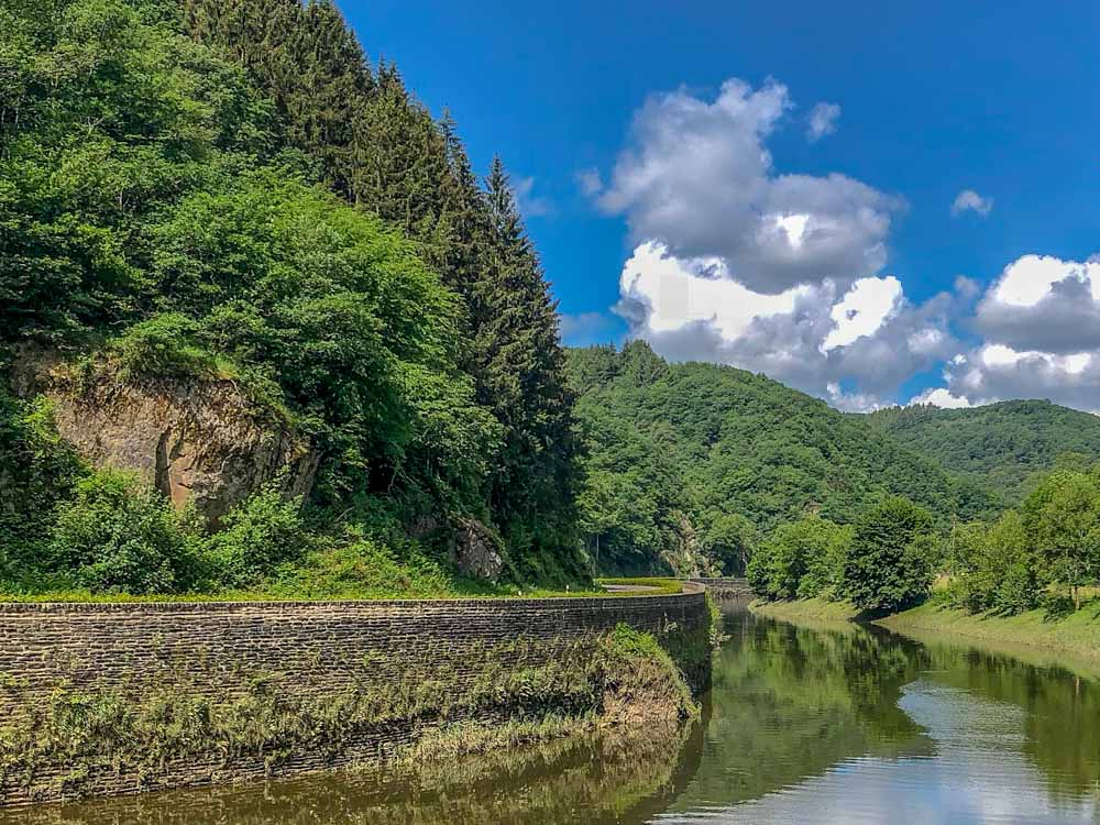 Weekend Luxembourg trip: Vianden Ourdall trail