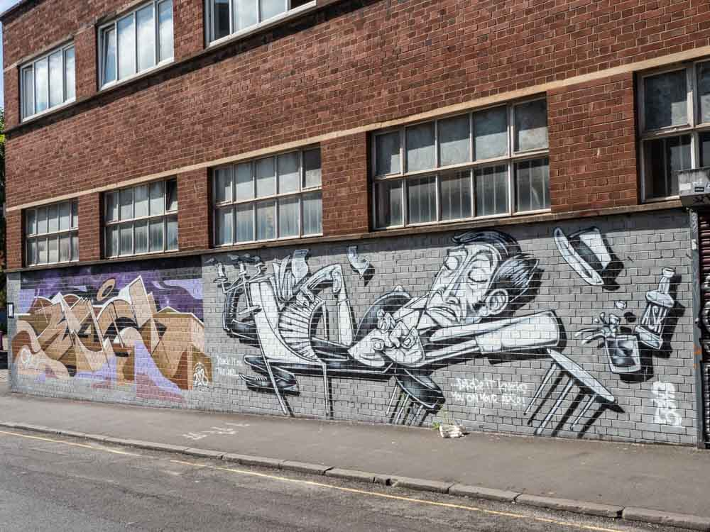 Bristol street art in Stokes Croft
