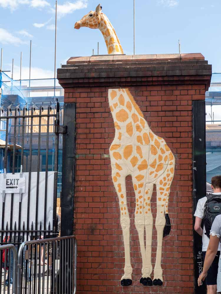 Bristol Upfest China Girl giraffe