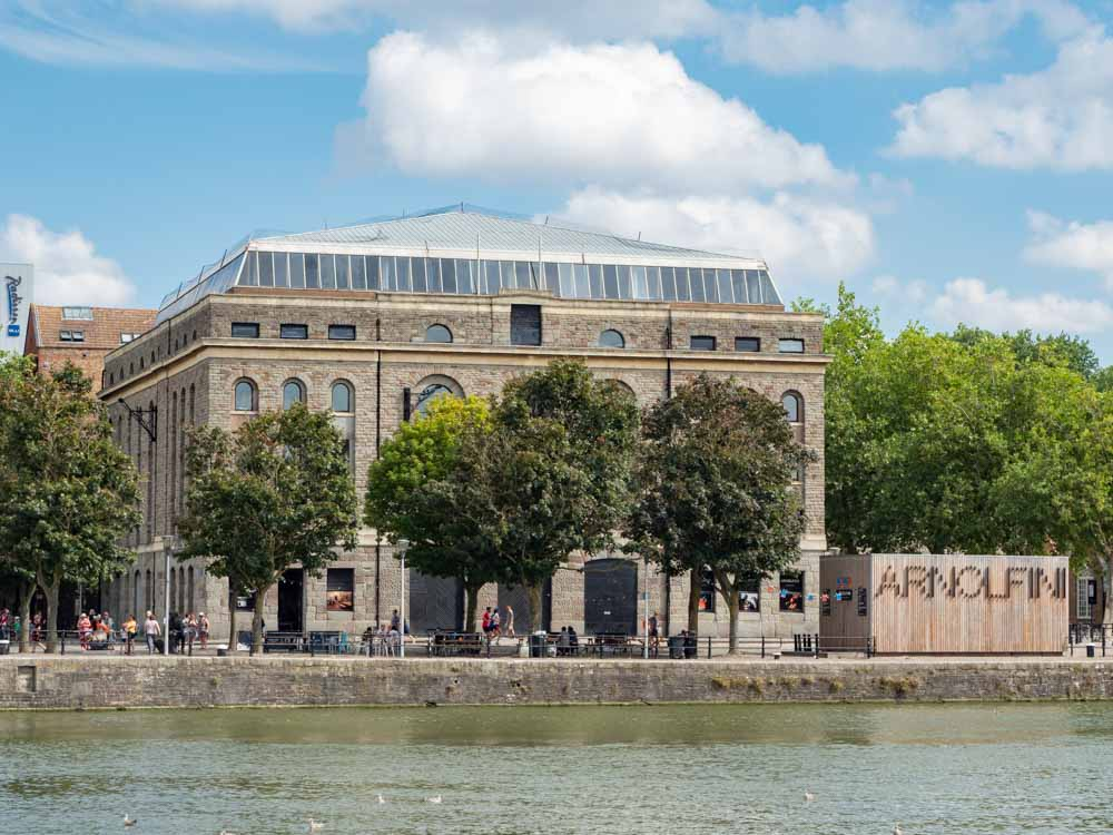 Things to do in Bristol- visit the Arnolfini on the harbor