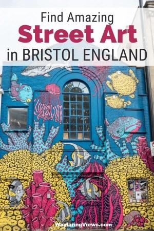 Street art guide to Bristol England