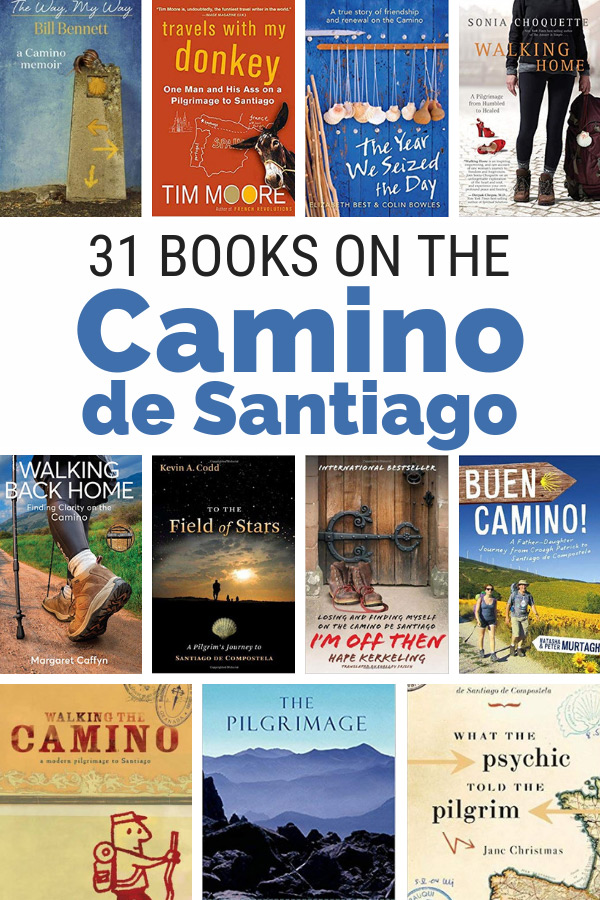 List of Camino de Santiago books and Camino de Santiago guidebooks