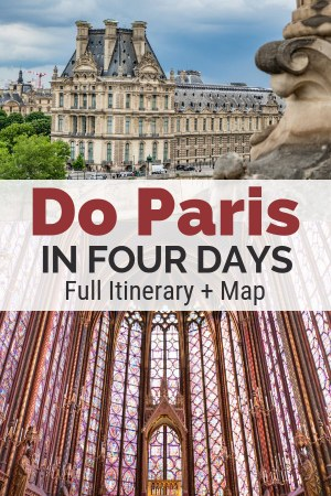 This travel guide to Paris will help you figure out your best itinerary. Get travel tips and find the places to go on your ideal four to five day Paris itinerary.