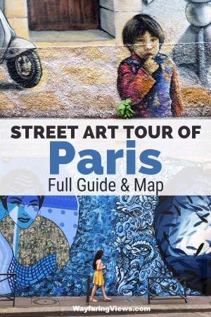 This tour of Paris is a must do if you love street art. Find murals and graffiti in four distinct areas. Get neighborhood guides, a map and all the eye candy you can handle.