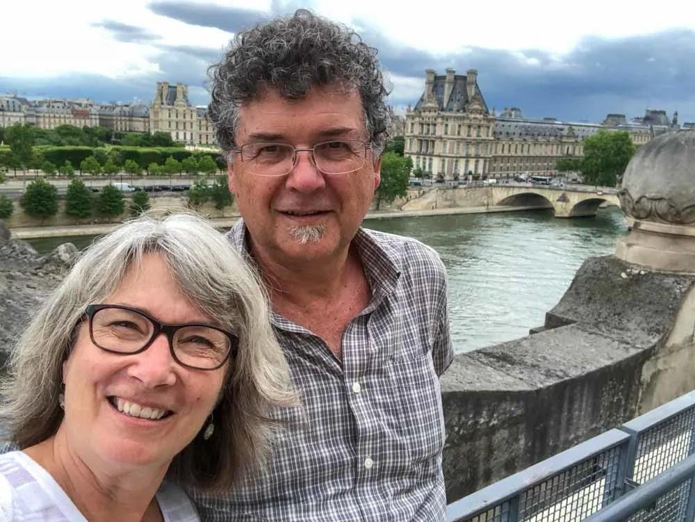 Paris Musee D'Orsee with Wayfaring Views Carol and Ken