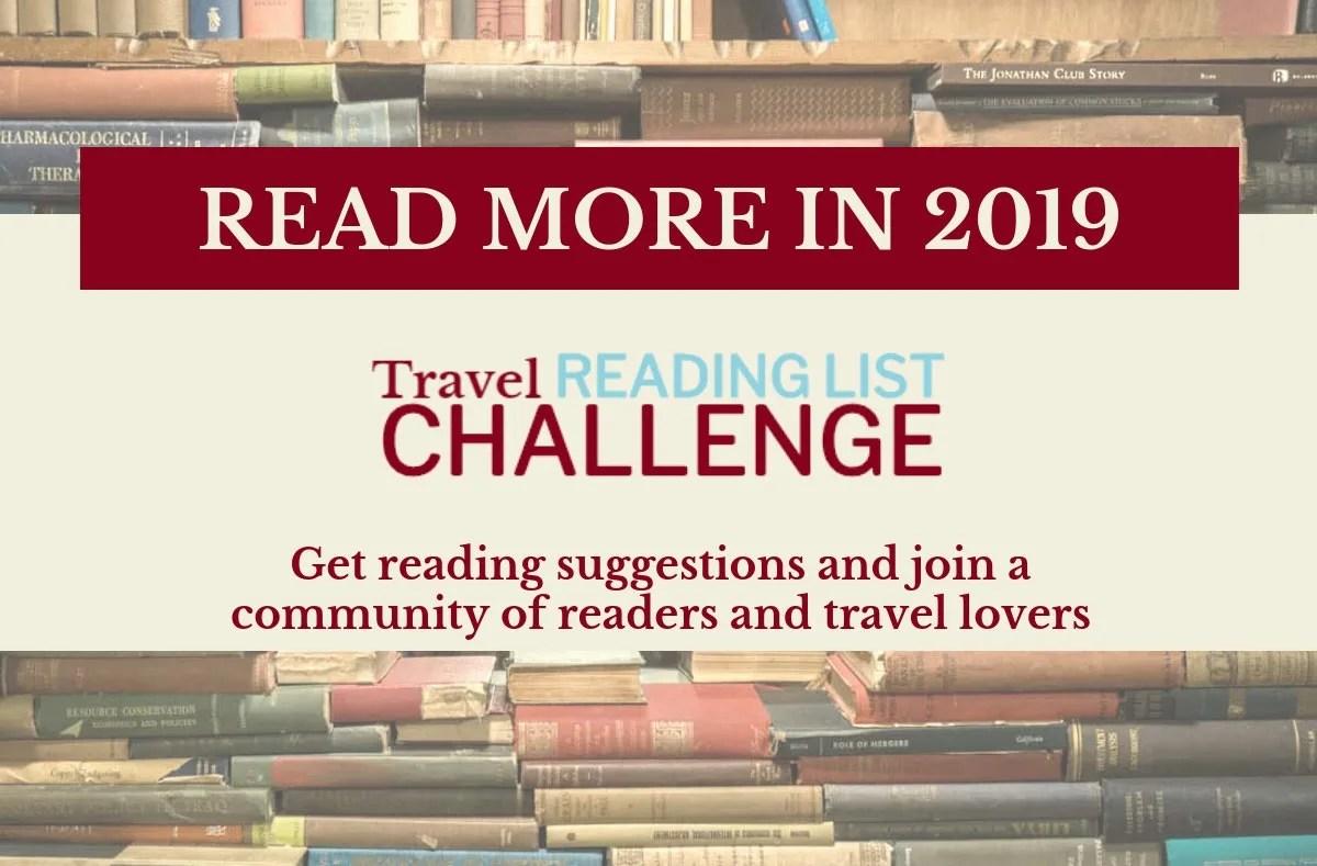 Travel Reading List Challenge image
