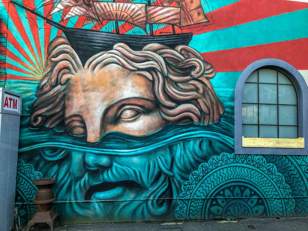 Bushwick Collective mural by Beau Stanton