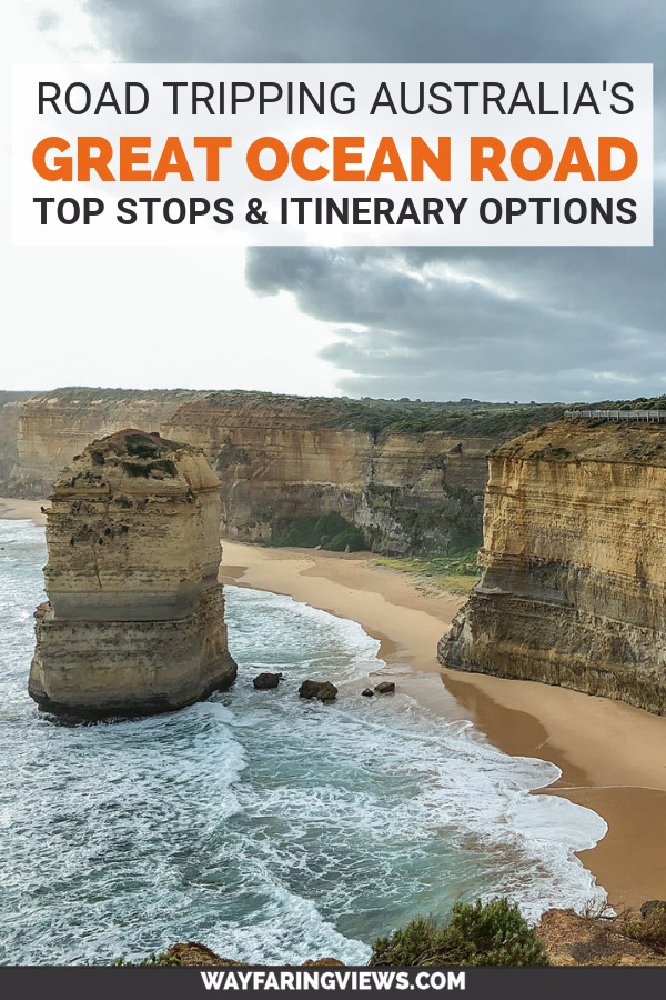 Great Ocean Road trip drive planner