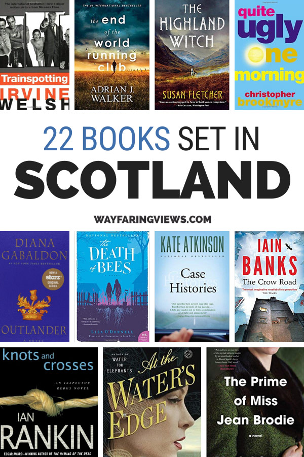 22 books set in Scotland. Book covers