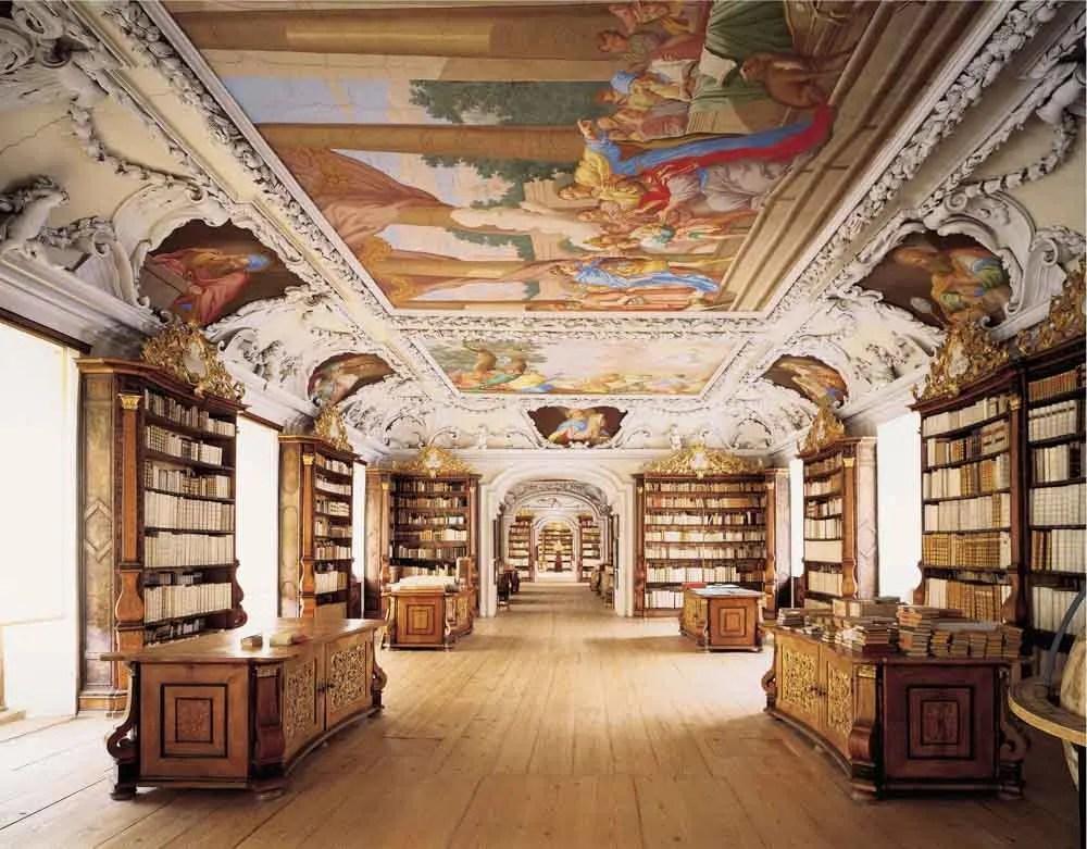 Ulm Germany Kremsmuenster library