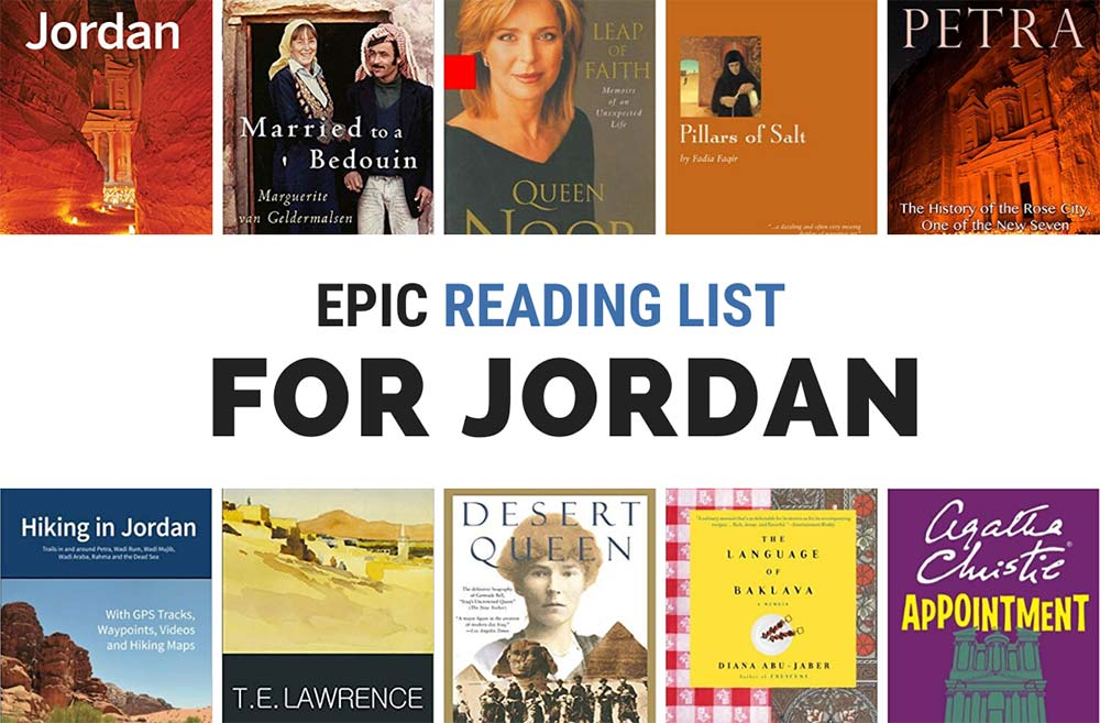 Books about Jordan epic reading list