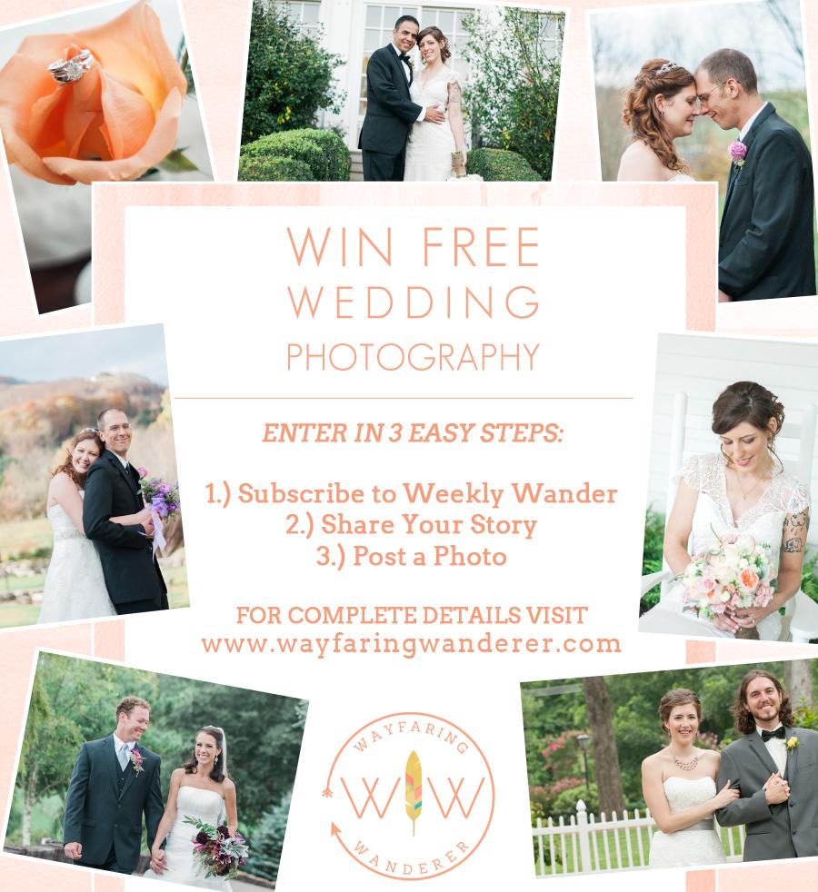 Wedding Giveaway: Wayfaring Wanderer Boone NC Photographer Wedding