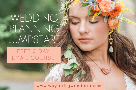 Free Ecourse How To Start Your Wedding Planning