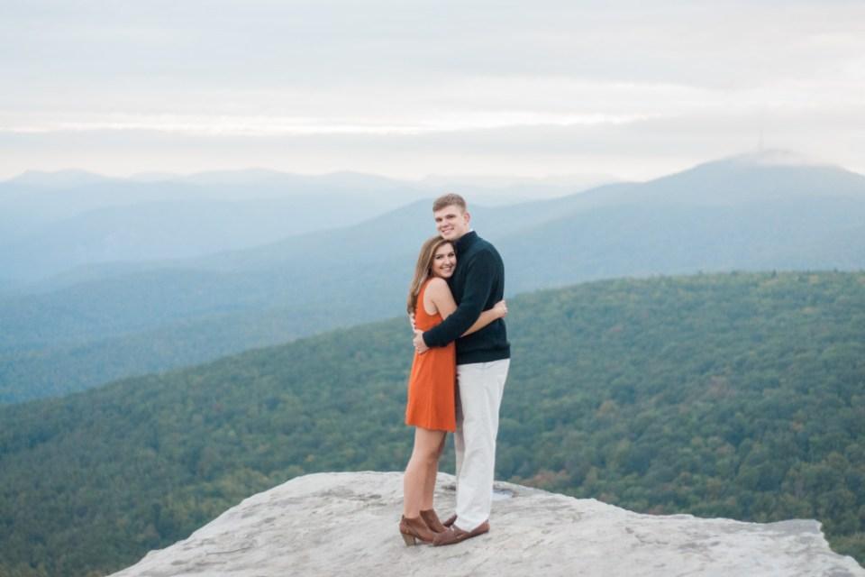 Engagement Photographer Boone NC