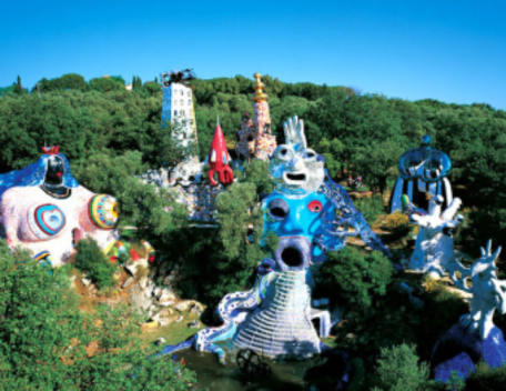 niki-de-saint-phalle sculpture