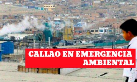 Callao en emergencia ambiental por químicos tóxicos
