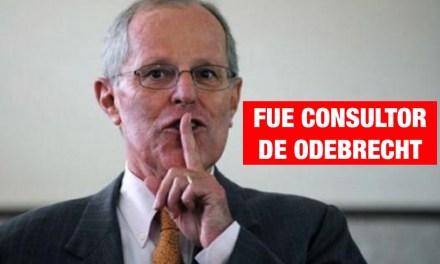 Odebrecht menciona a PPK en Curitiba