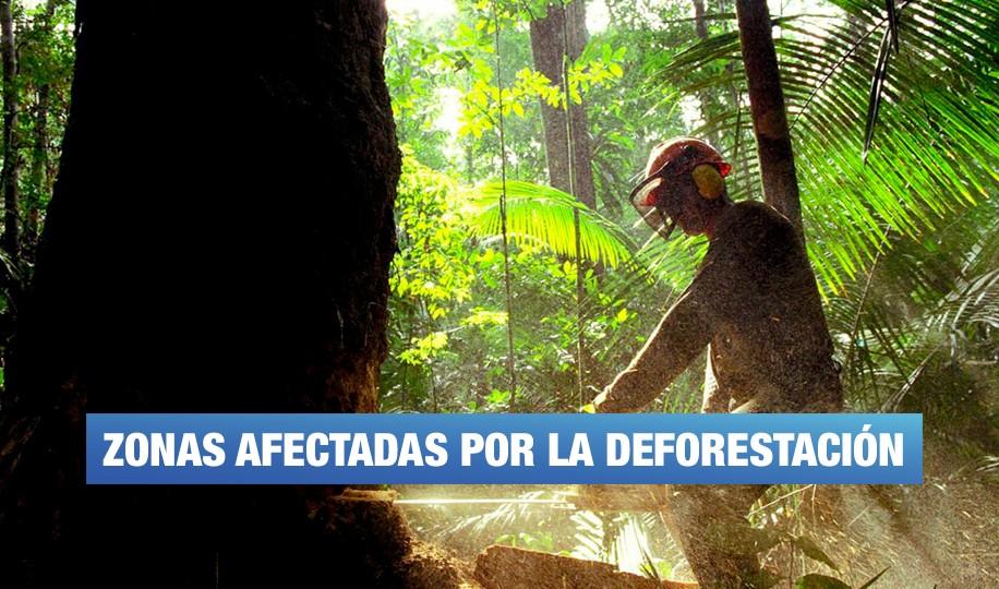 Deforestación en Perú
