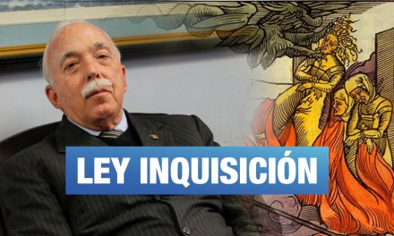 Ley inquisición del fujimorismo