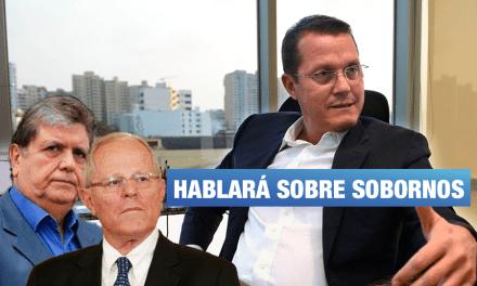 Barata será interrogado sobre casos de corrupción vinculados a Alan García y PPK