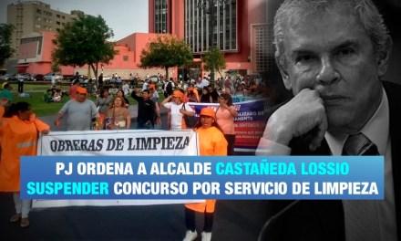 Poder Judicial anula concurso de Municipalidad de Lima