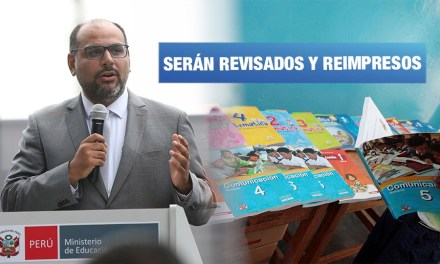 Ministerio de Educación anunció revisión de textos escolares sobre enfoque de género