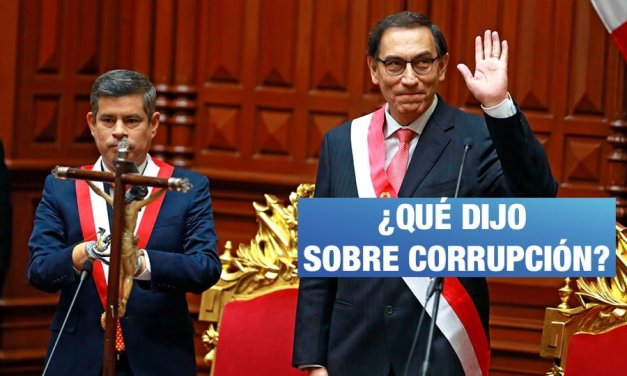 ¿Qué propuso Vizcarra contra la corrupción?, por Cruz Silva