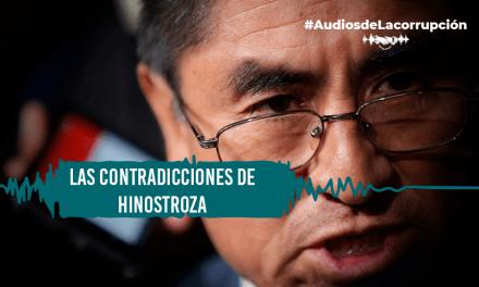 Juez Hinostroza es confrontado con audios sobre irregular intervención en juicio de su hermana