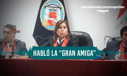 Jueza del caso Sánchez Paredes: «No sé qué interés tendrá Hinostroza en mi traslado»
