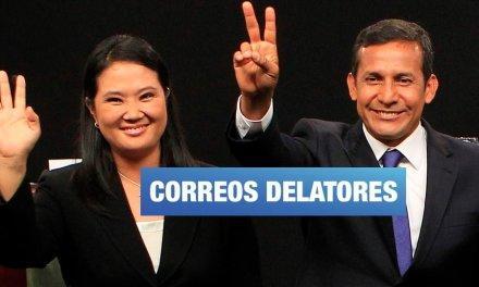 Correos encriptados confirman aportes de US$1 millón a Keiko Fujimori y US$3 millones Ollanta Humala