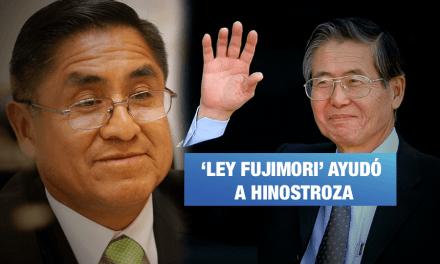 'Ley Fujimori' demoró envío de la acusación constitucional contra Hinostroza a la fiscalía