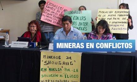 4 mineras chinas violan derechos humanos en Perú
