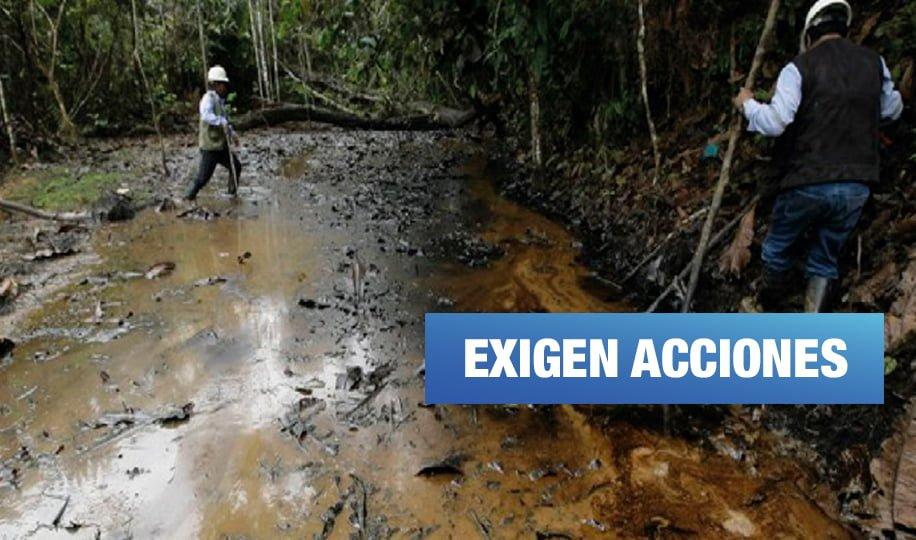 Comunidades amazónicas afectadas por derrames de petróleo siguen sin atención médica