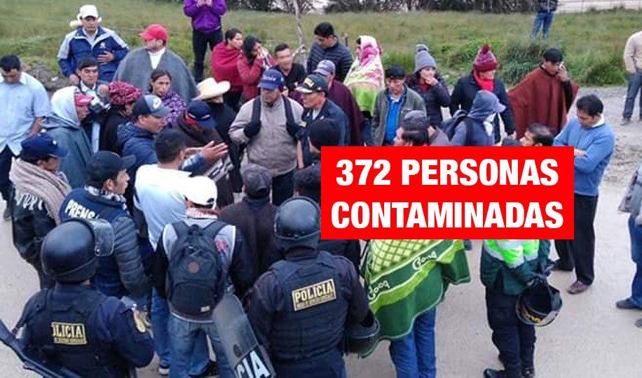 Cajamarca: Inician paro indefinido contra contaminación minera en Bambamarca