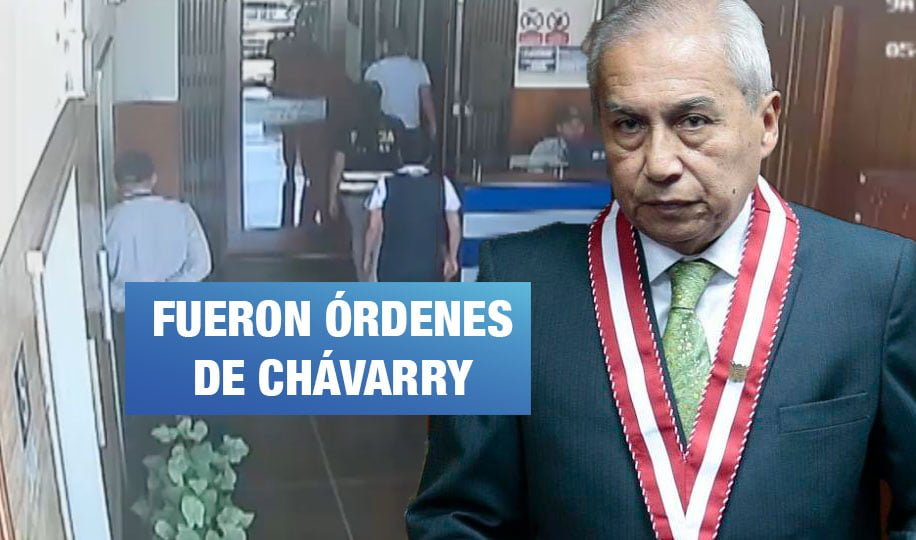 Exasesora delata a Chávarry de ordenar el retiro de documentos de oficinas lacradas