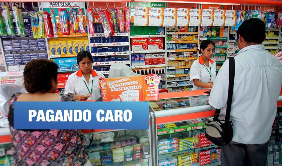 Falta de regulación permite que boticas vendan los fármacos más caros