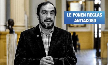 Lescano no puede acercarse, hablar o revelar identidad de periodista denunciante