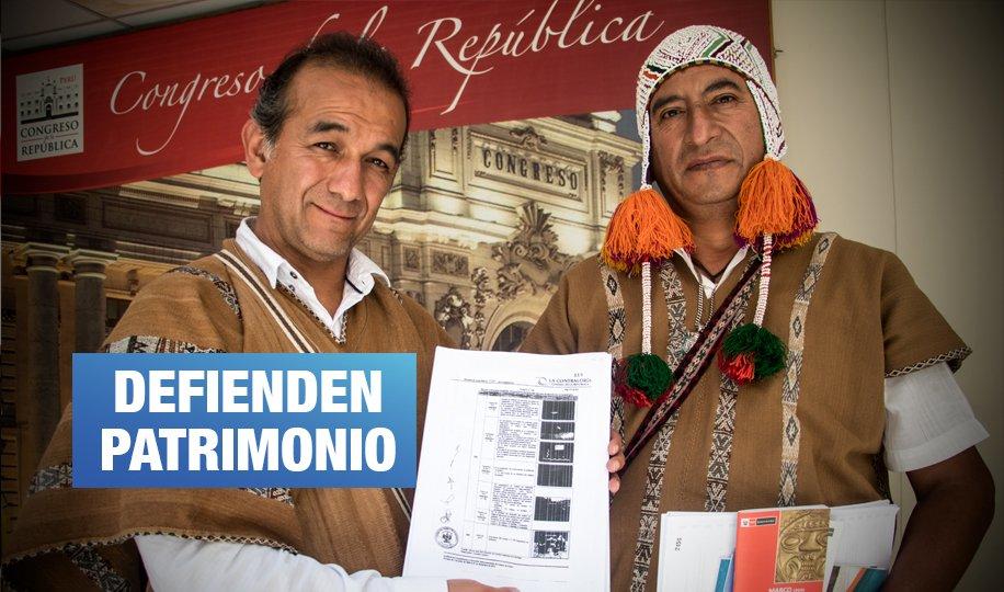 Comuneros de Cusco afectados por la construcción del Sheraton llegan al Congreso