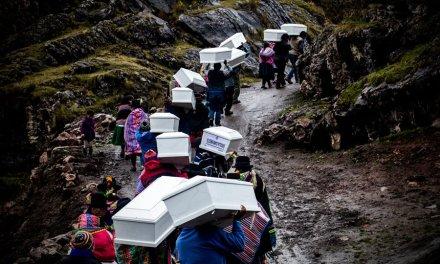 Llacchuas, el pueblo que enterró sus muertos 34 años después