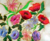 Silk Painting Bouquet
