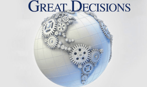 Great Decisions @ Wayland Library | Wayland | Massachusetts | United States