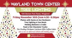 Wayland Town Center Tree Lighting @ Wayland Town Center | Wayland | Massachusetts | United States