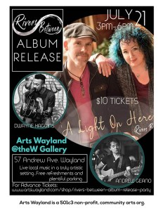 Rivers Between Album Release Party @ @theW Gallery