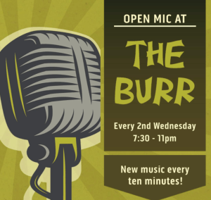 Open Mic at The Burr - moved to the 26th @ Sandy Burr Country Club