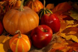 Drop-in Fall Craft: Apples, Pumpkins and Leaves @ Wayland Library