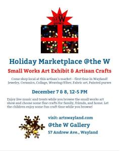 Holiday Marketplace at the W Gallery @ The W Gallery